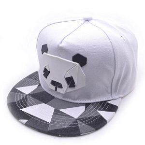 2018 Cap Baseball Cap Snapback Caps Hip Hop Hats (Blanc)