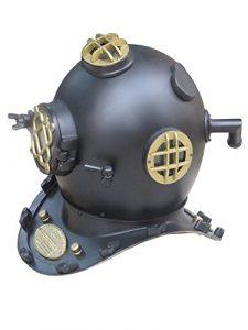 45,7cm plongée casque de plongeurs U.S. Navy Mark V par Nauticalmart
