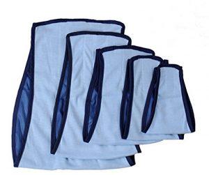 Animal de Compagnie Vêtements Mâle Chien Physiologique Un Pantalon Couches Chien Menstruel Un pantalon Chiot Couche Allaitement Réutilisable Lavable Nappies 2 Couleurs 5 Tailles (Bleu, XS)