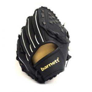barnett JL-95 gant de baseball initiation PU infield 9,5, pour gaucher RH, noir