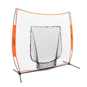 Bownet 7'x 7' Big Mouth X–Original et plus fiable de baseball/softball Training Net, mixte, n/a