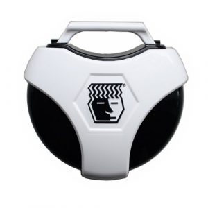 Brain Pad 900RBW Housse de transport universel, anti-microbien, pour garder le protège-dents – Noir/Blanc, taille unique
