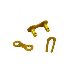 Chaîne connecteur 1/5,1cm X1/20,3cm, Connect Link pour Single Speed, fixed Gear Bike, Doré