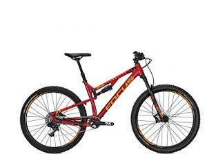 Focus MTB Spine Evo DNA 11 g Fully 27,5 Pouces Donna Rouge Cerise, CherryRed, 42