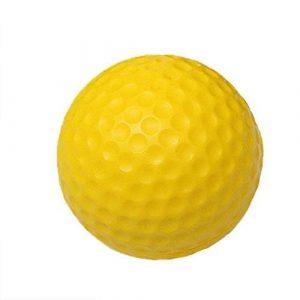 Green Plastiknylon-Baseball-Schlagen-Training Geschlossen (Feder) üben Sie Badminton-Übungs-Ball-Mikron-Ball 6 Stücke + gelegentliche Farben-Innenübung Regnerischer Tag sechs Praxis
