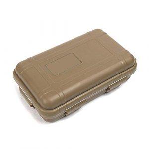 HATCHMATIC Mer Unisexe Black Box de Stockage antichocs Nouvelle boîte extérieure Survie Boue Orange Champ imperméable: Brown