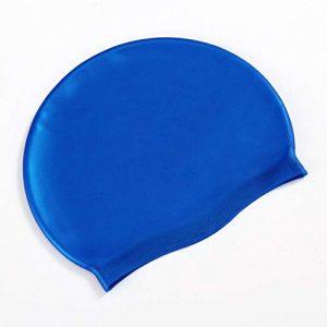 HATCHMATIC Taille sans Tissu Oreilles Cheveux Longs Protéger Orts SIWM Piscine Chapeau Orty Ultrathin de Bain Caps pour Adultes Hommes Femmes: A