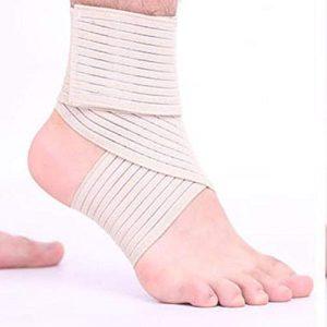 iShiné Bandages élastiques Protections de la Cheville Equitation Alpinisme Enroulement Compression Protection de la Cheville