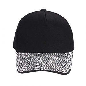 iStary Casquette de Baseball d'été Couleur Unie Coton Respirant Baseball Hat Style coréen Confortable réglable Unisexe Hip Hop Sun Hat pour Hommes et Femmes