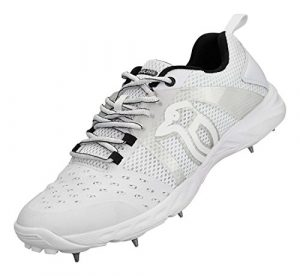 Kookaburra 2018 KCS 2000 Spike, Chaussures de Cricket Mixte Adulte, Blanc (White), 42 EU
