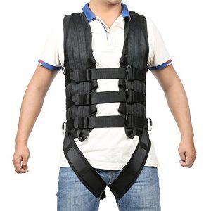 La proposition de accessoires, ceinture de sécurité pour l'habillement de protection pour le corps entier Habillement WIA pour Arts martiaux Stunt Rock Climbing Hanging WIA