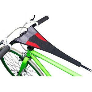 Leezo Filet de Protection Durable pour vélo avec écran Tactile pour téléphone Portable de 14 cm, Standard