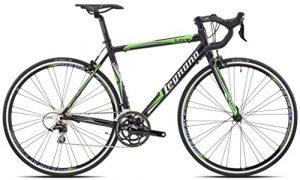Legnano 570Lg36 Vélo de Course pour Homme, Noir/Vert, 59