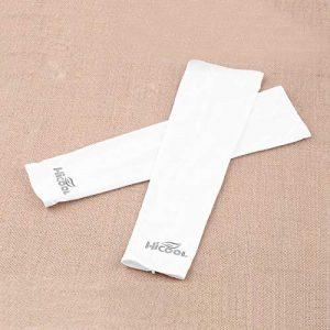 Lynn025Keats Bras de Refroidissement Nylon Spandex Manches Anti-UV Crème Solaire Bras Escalade en Plein air Couverture lt