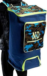 ND Plus Camouflage Powerbow Large Duffle Kit Sac de Cricket 70 X 30 X 35 cm Neuf