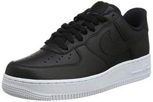 Nike Air Force 1 '07 Chaussures de Basketball Homme, Noir Black/White 015, 47 EU