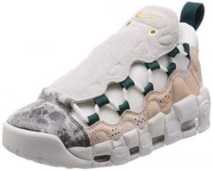 Nike W Air More Money LX, Chaussures de Basketball Femme, Multicolore Summit White/Oil Grey 101, 38 EU