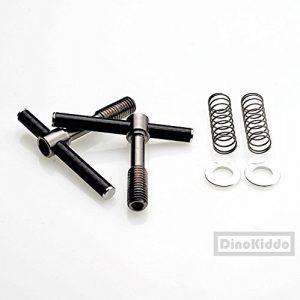 NOV Carbone Easy Shell Levier de serrage Ultra léger en carbone + Titane à levier en mouvement pour Brompton Vélo pliable–Dino Kiddo
