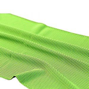 NoyoKere Serviettes de Bain en Microfibre à Séchage Rapide Serviette de Sport Serviette de Glace Froide Sense Serviette de Bain Sèche Sports Yoga Couverture de Tapis Vert