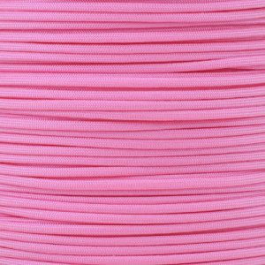 PARACORD PLANET ParacordPlanet 100′ 550 Cord Hank of Type III 550 Paracord – Rose Pink by