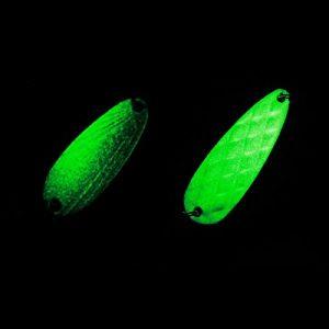 Pinkfishs Paillettes Lumineuses appat Spirale Paillettes hyperbolique leurres Bass Fishing leurres – 8g