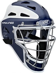 Rawlings Adulte Pro Preferred hockey Style Catcher pour casque, 71/8–73/4, mixte, Bleu marine mat