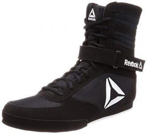 Reebok Boxing Boot-Buck, Chaussures d'arts Martiaux Homme, Multicolore (Black/White 000) 43 EU