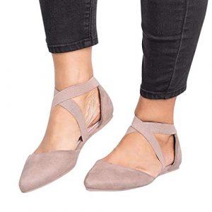 Saihui_Women's Shoes , Sandales Compensées Femme – Vert – Kaki, 37 EU