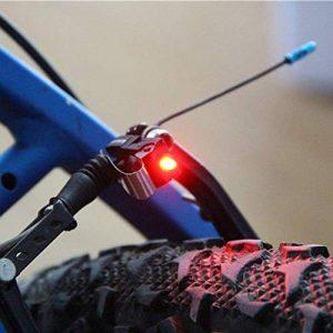 scatkinPYwl Lampe de sécurité arrière pour vélo avec LED Rouge Taille Unique 1