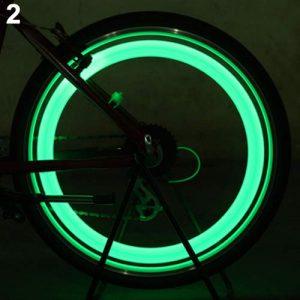 scatkinPYwl Lampe LED de sécurité pour vélo Taille Unique Vert