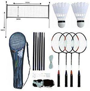 Set de badminton Unibos, Bleu