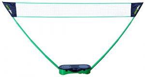 SportPlus – Filet à hauteur réglable – Badminton / Volleyball / Soft Tennis – Avec Mallette de Transport ultra Pratique – Montage rapide – Hauteur du filet : environ 1,05 m jusqu'à 2,24 m – Largeur du filet : environ 2,45 m jusqu'à