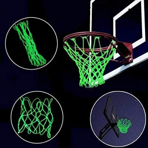 wuayi Guirlande Lumineuse à LED pour Basket-Ball Taille Unique Green (Basketball Net)