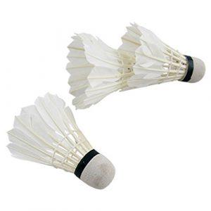 Amoy.B Badminton couramment utilisé Mousse Blanche de Sport
