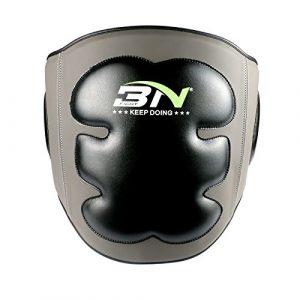 Belly Protector, boxe ventre d'écran avec cuir PU éponge à haute pression pour la boxe/kickboxing/Muay Thai/d'entraînement Kick Shield Rib RGM Corps Belly Pad