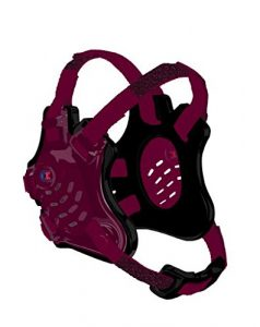 Cliff Keen Tornado Wrestling Headgear – Bordeaux/Noir/Bordeaux