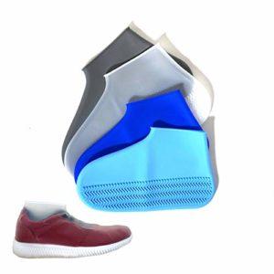 Couvre-chaussures en silicone avec semelle antidérapante renforcée • Couvre-chaussure • Résistant à l'eau • Lavable • Réutilisable • Multifonction