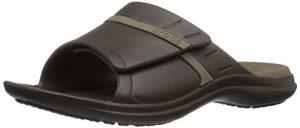 Crocs Modi Sport Slide Sandal, Espresso/Walnut, 5 US Men's / 7 US Women's