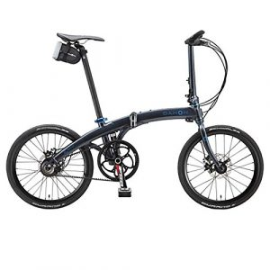 Dahon Faltrad MU Rohloff 20″ 14 Gang Schwarz Agate Klapp Fahrrad Faltbar Scheibenbremse Aluminium Uni, 879347