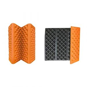 HATCHMATIC Repliez-Able ort Salon Tapis extérieur Randonnée Orts Camping Coussin Dinning Seat Mat Mousse Sitting Pad: Orange