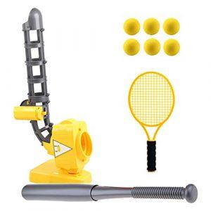 Homyl Lanceur Baseball Electrique Lanceur Tennis Sport Extérieur Jeu Exercice