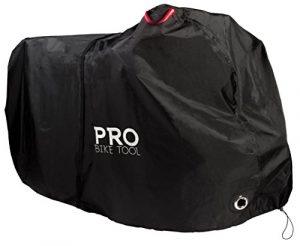 Housse de protection pour vélos d'extérieur – XXL – matériau anti-déchirure robuste, imperméable et anti-UV – Protection contre toutes les conditions climatiques pour vélos de montagne et de route