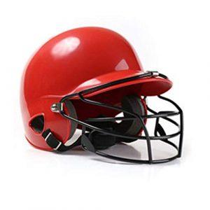 INJOYS Casque de Baseball pour Adultes, Casque de Protection pour la tête, Casque de Softball avec Masque, M001, M001