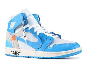 Jordan 1 Retro High UNC 'Off White' – AQ0818-148 – Size 37.5-EU