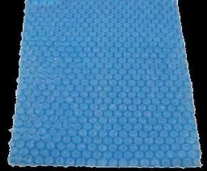 Laurens Bâche solaire extra épais (400mu) pour piscine 259x 170cm