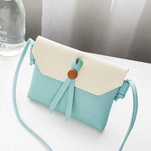 Lynn025Keats T213 PU Messenger Bag en Cuir Femmes Fille Daily Wear Sac à bandoulière Unique