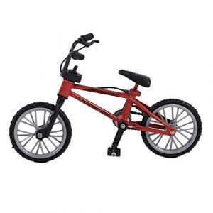 Mini Taille Simulation Alliage Doigt Vélo Enfants Enfants Funnt Mini Doigt Vélo Jouet avec Corde De Frein Cadeau d'anniversaire