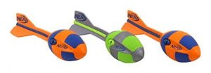 Nerf Vortex Grand Jeunesse Unisexe, 2 x Orange et 1 x Vert, 32 cm