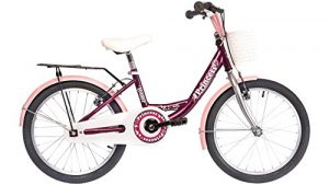 onux Vélo pour enfant fille Princess, 20«, 1vitesses 50,8cm (20pouces)
