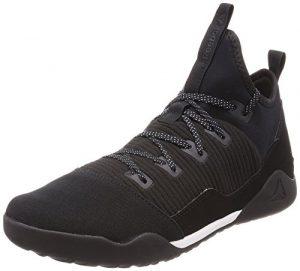Reebok Combat Noble Trainer Chaussures de Boxe Homme, Multicolore (Black/White 000) 41 EU